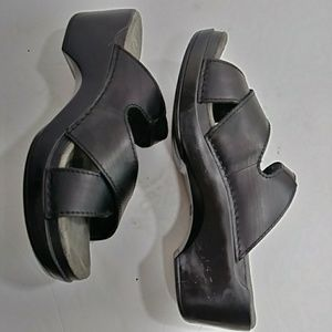 Dansko Slides Black Size 39